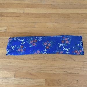 Blue Floral Magic Bag thermotherapeutic compress